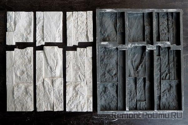 Форма для заливки искусственного камня