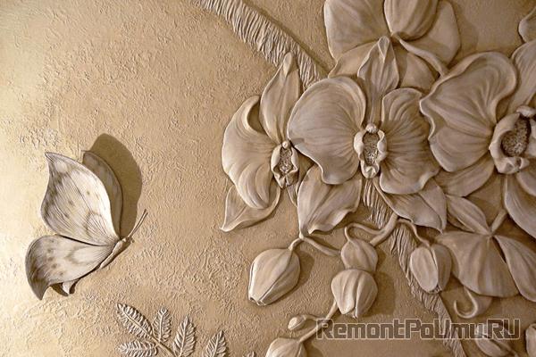 Декоративная штукатурка для внутренней отделки стен: виды создаваемого интерьера и способы нанесения – 42 фото