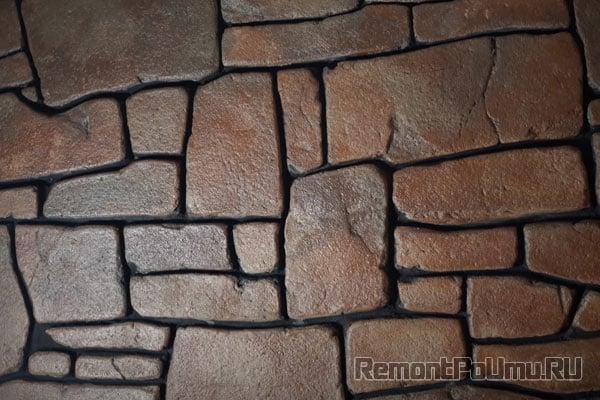 Имитация под натуральный камень