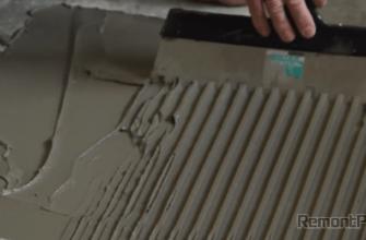 Как уложить плитку на пол своими руками