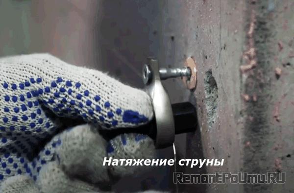 Натяжение струны