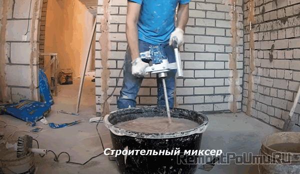 Строительный миксер