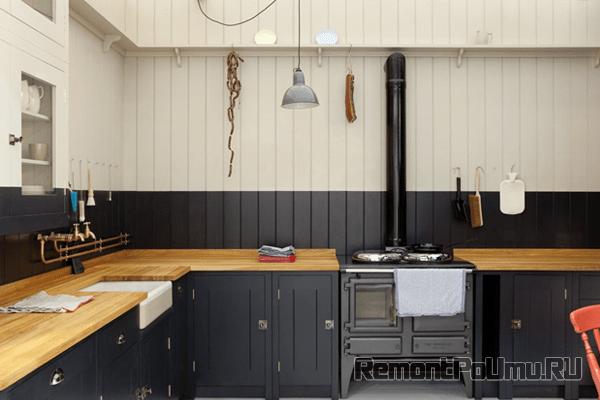 Влагостойкие панели на кухне